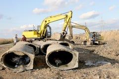 傲德萨,乌克兰- 11月9 :建筑的乌克兰工作者 免版税库存图片