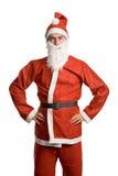 傻的圣诞老人 库存图片