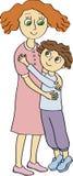 儿子和母亲 母亲节 免版税图库摄影