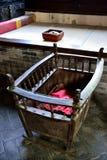 婴儿床, kang 图库摄影