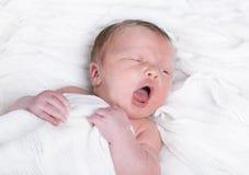 婴儿疲倦 免版税图库摄影