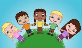 儿童世界 库存照片