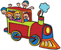 儿童乘驾培训 免版税库存图片
