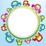 儿童五颜六色的模板 免版税库存照片