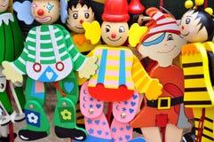 儿童五颜六色的玩具 免版税库存照片