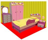 儿童五颜六色的空间 免版税库存照片
