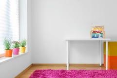 儿童五颜六色的空间 免版税库存图片