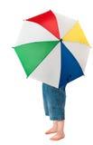 儿童伞 免版税库存照片
