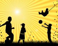儿童使用 免版税库存图片