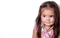 儿童俏丽微笑 库存照片