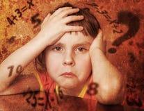 儿童偏僻哀伤 免版税库存图片