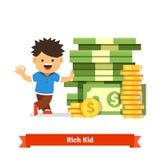 儿童储款和财务概念 图库摄影