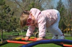 儿童公园作用 库存图片