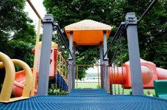 儿童公园玩具 免版税库存图片