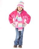 儿童冬天 免版税图库摄影