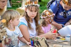 儿童创造性 库存图片