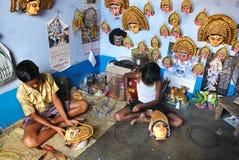 儿童印度人工 库存图片