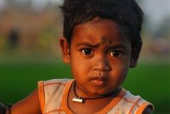 儿童印度贫寒 库存图片