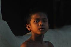 儿童印度贫寒 免版税库存照片