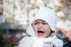 儿童哭泣 免版税库存图片