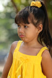 儿童哭泣 库存图片