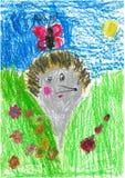 儿童图画s 库存照片