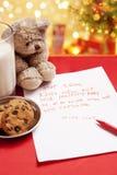 儿童圣诞节真的愿望 免版税库存图片