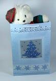 儿童圣诞节礼品 库存照片