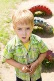 儿童坏的表面递室外 免版税库存照片