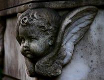 儿童天使安心 免版税库存图片