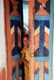 儿童女孩印度 免版税库存图片