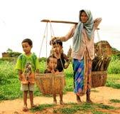 儿童妇女 免版税图库摄影