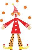 儿童小丑节假日 免版税库存照片