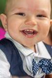 儿童小微笑 库存照片