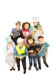 儿童小组 免版税图库摄影