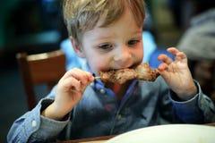 儿童尖酸的kebab 免版税库存图片