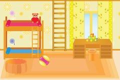 儿童居室 库存例证