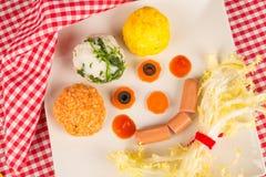 儿童开胃菜 免版税图库摄影