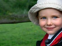 儿童微笑 免版税图库摄影