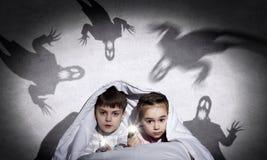 儿童恶梦 免版税库存图片