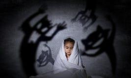 儿童恶梦 库存照片
