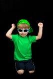 儿童成套装备夏天佩带 免版税库存图片