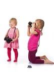 儿童拍摄 库存图片