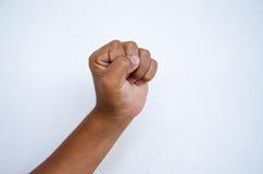 儿童拳头 免版税库存图片