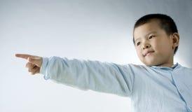 儿童接触 库存图片