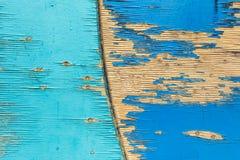 从儿童操场的圈子木盘区 过时用木材建造的表面 免版税库存照片
