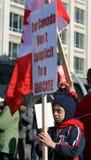 儿童支持者泰米尔语 库存照片