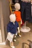 儿童时装模特 免版税库存图片