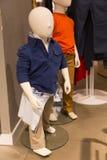 儿童时装模特 免版税库存照片