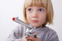 儿童枪 免版税库存照片